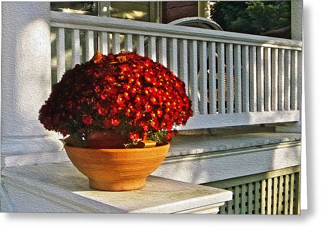 Porch Beauty Greeting Card by Brian Wallace