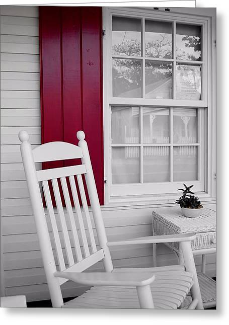 Porch Dreams Greeting Card by JAMART Photography