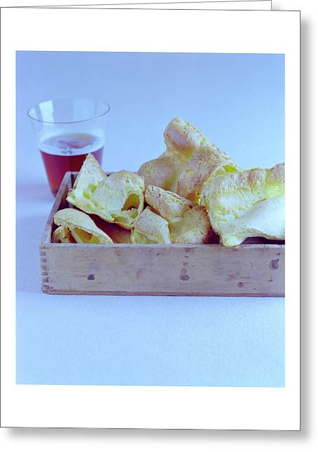 Pork Rinds With A Pint Greeting Card