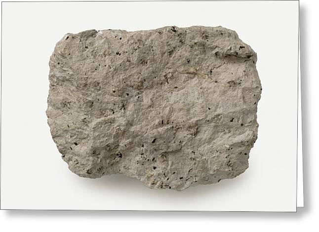 Porphyritic Trachyte Rough Greeting Card by Dorling Kindersley/uig