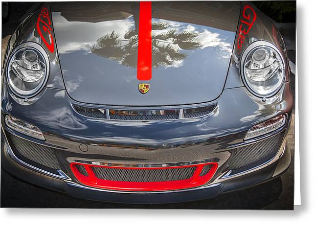Porsche 2010 911 Gt3 Rs 3.8 Greeting Card by Rich Franco