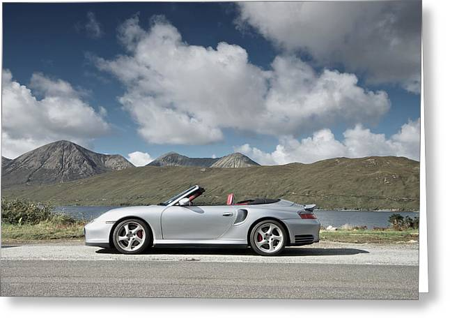 Porsche 911 - 996 Turbo Greeting Card