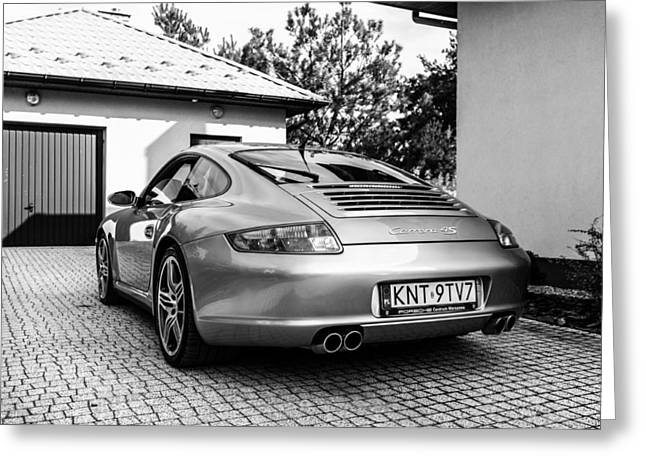 Porsche 911 Carrera 4s Greeting Card