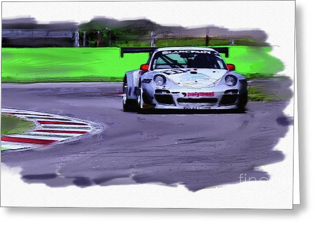 Porsche 911 Gt3 Greeting Card