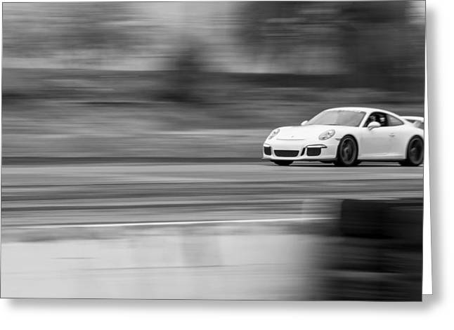 Porsche 911 Gt3 Supercar Greeting Card