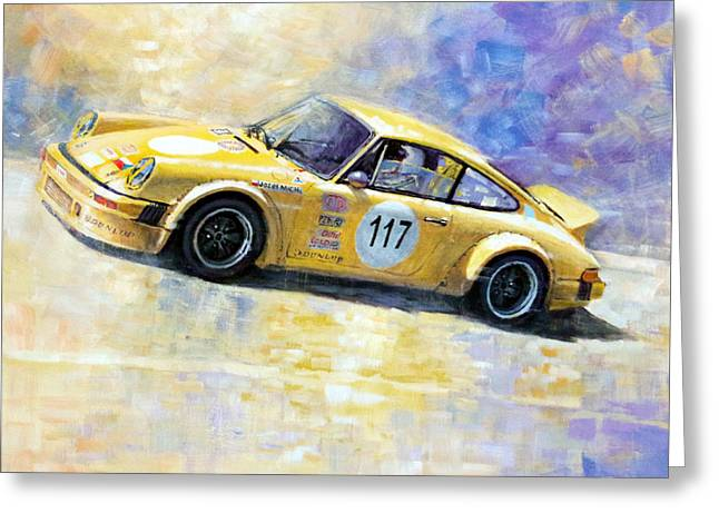 Porsche 911 S Typ G Josef Michl Greeting Card by Yuriy Shevchuk