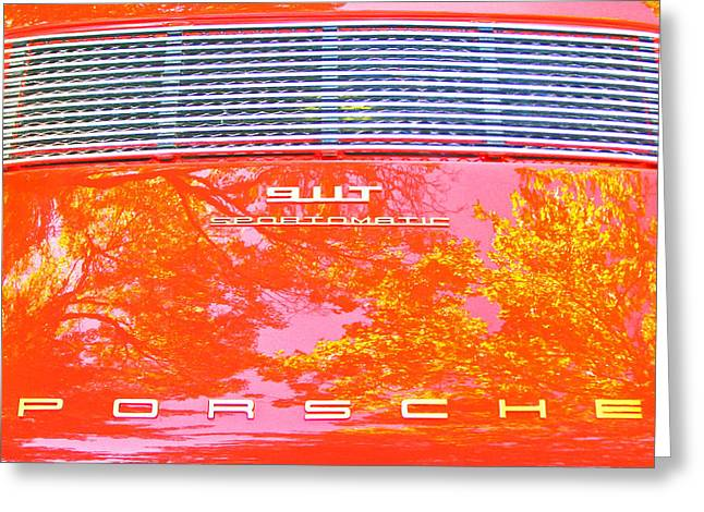 Porsche 911t Reflections Greeting Card