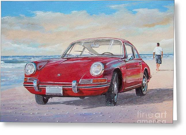 1967 Porsche 912 Greeting Card
