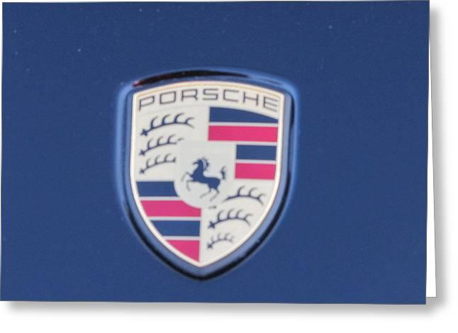 Porsche Dream Greeting Card by Shawn Hughes