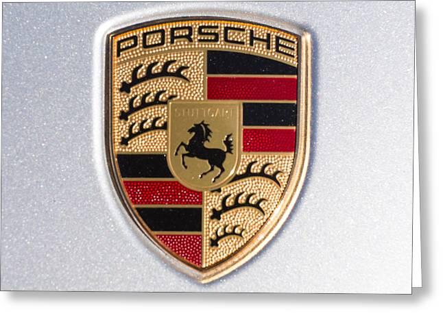 Porsche Emblem 911 Greeting Card