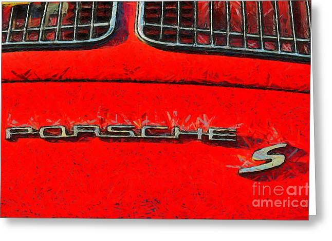Porsche S Logo Greeting Card