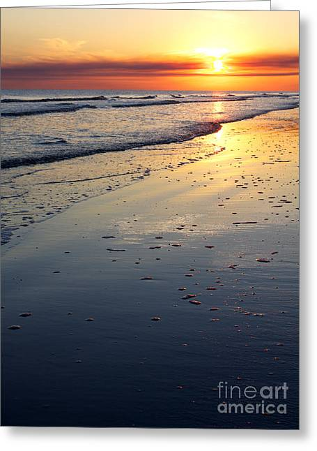 Port Arthur Sunset Greeting Card