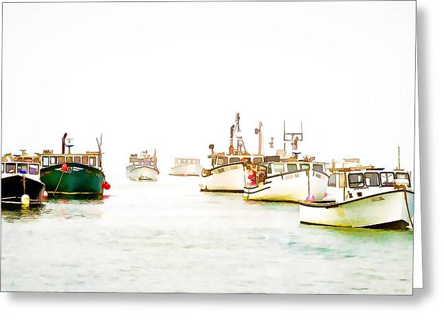 Port Bound  Chatham Cape Cod Photo Art Greeting Card by Constantine Gregory