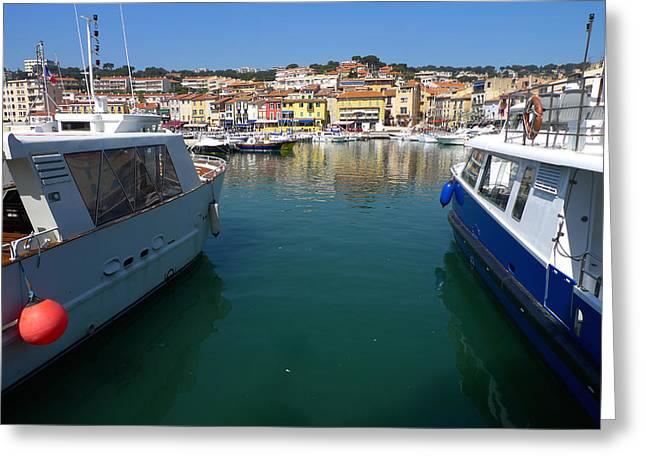 Port De Cassis Greeting Card