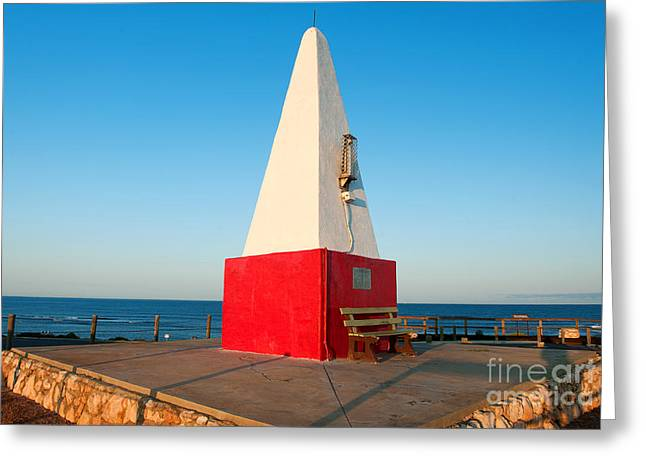 Port Denison Obelisk Greeting Card