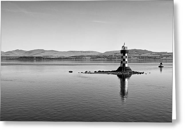 Port Glasgow Lighthouse Greeting Card
