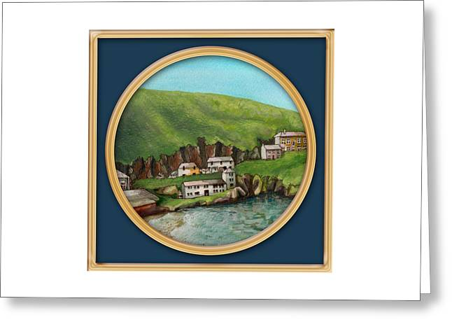Port Isaac Greeting Card