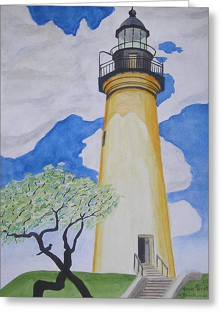 Port Isabel Lighthouse Greeting Card