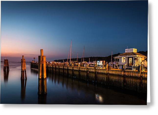Port Jefferson Greeting Card