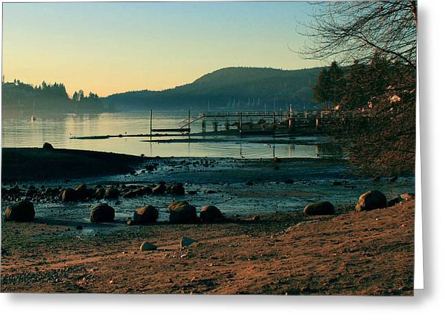 Rocky Point Inlet-vintage Greeting Card