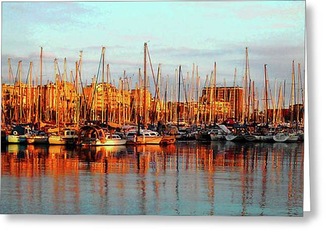 Port Vell - Barcelona Greeting Card
