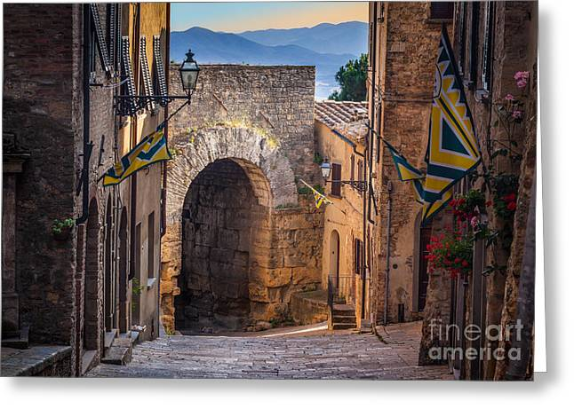 Porta Dell'arco Greeting Card by Inge Johnsson