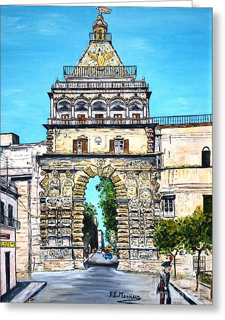 Porta Nuova - Palermo Greeting Card