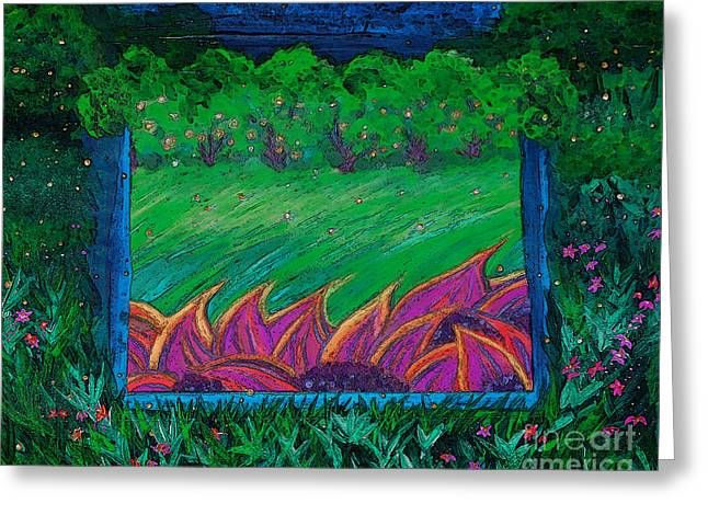Portal By Jrr Greeting Card by First Star Art