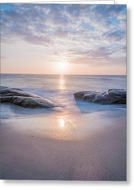 Portal To The Sun Greeting Card