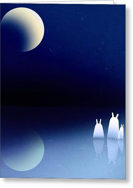 Portal Greeting Card by Yoyo Zhao