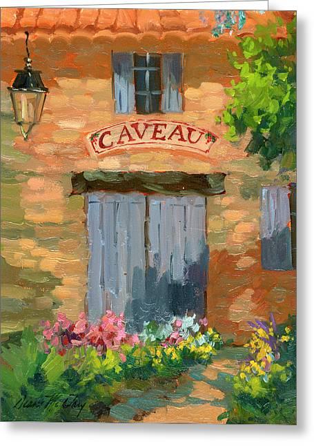 Portes Des Caveau Greeting Card