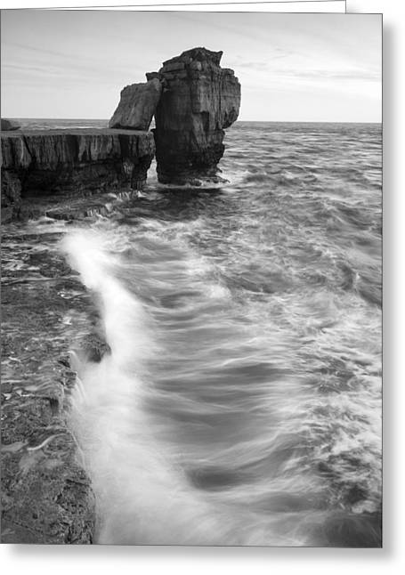 Portland Bill Seascape Greeting Card