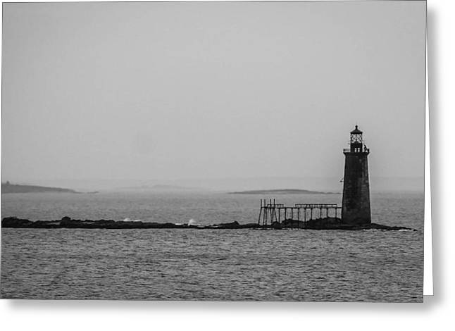 Portland Maine Lighthouse  Greeting Card