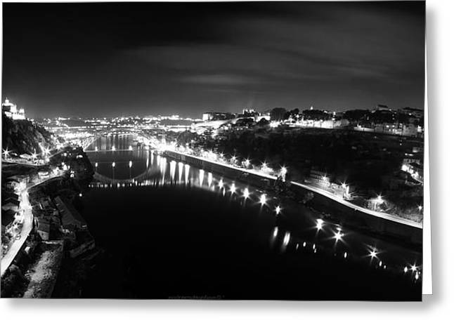 Porto @ Night Greeting Card