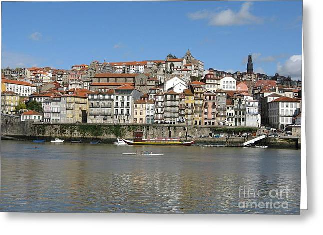 Greeting Card featuring the photograph Porto by Arlene Carmel