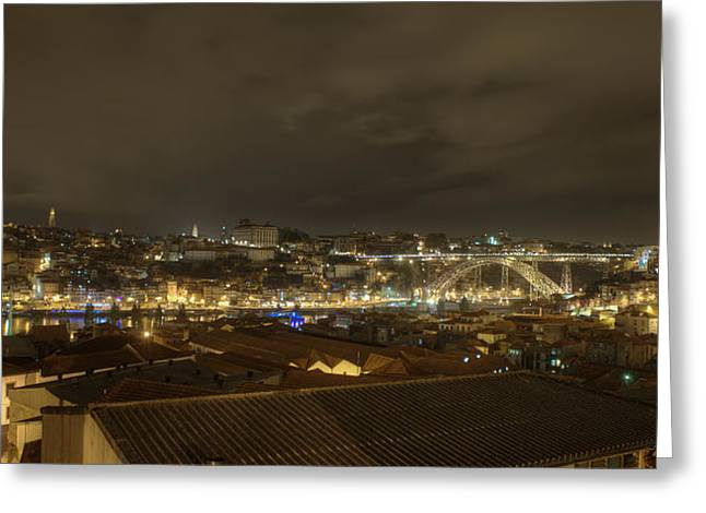 Porto Portugal From Taylor Winery Greeting Card