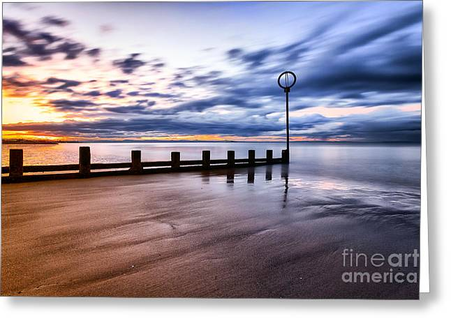 Portobello Beach Greeting Card