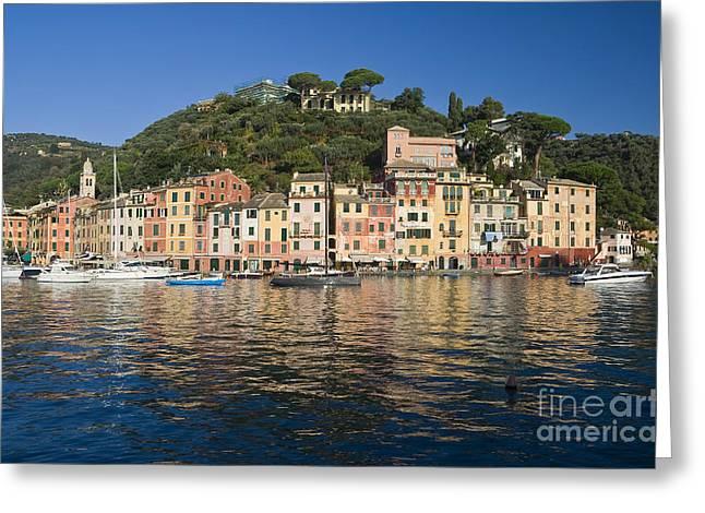Greeting Card featuring the photograph Portofino by Antonio Scarpi