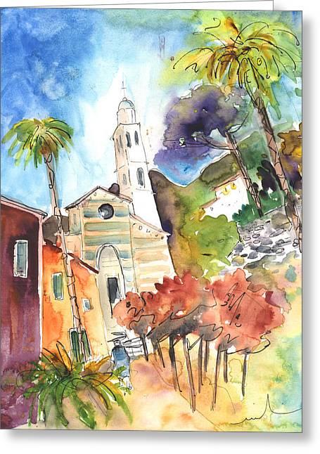 Portofino In Italy 05 Greeting Card by Miki De Goodaboom