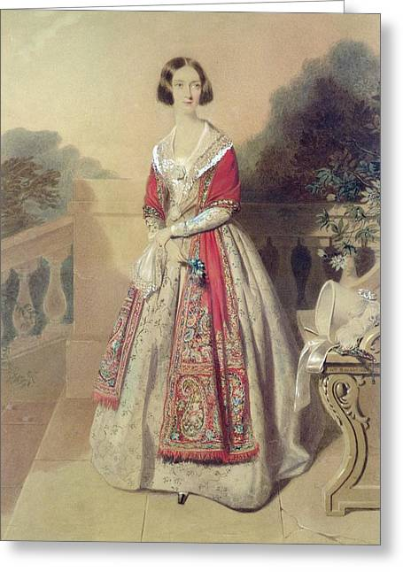 Portrait Of An Unknown Lady  Greeting Card