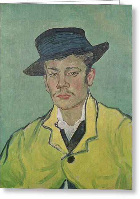 Portrait Of Armand Roulin Greeting Card by Vincent Van Gogh