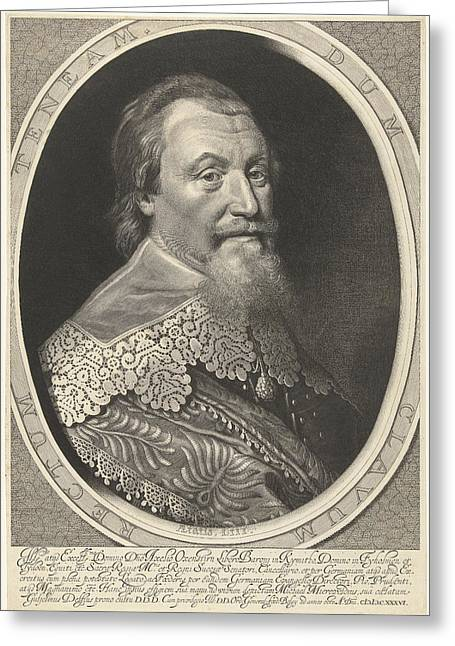 Portrait Of Axel Oxenstierna Greeting Card