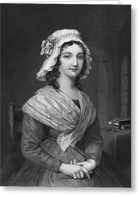 Portrait Of Charlotte Corday Greeting Card