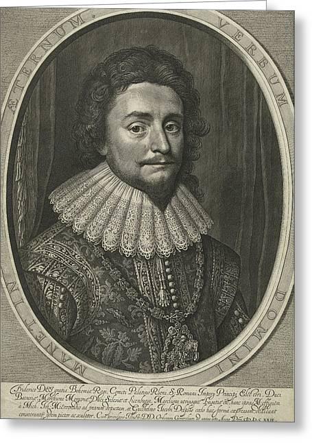 Portrait Of Frederick V, Elector Palatine Greeting Card