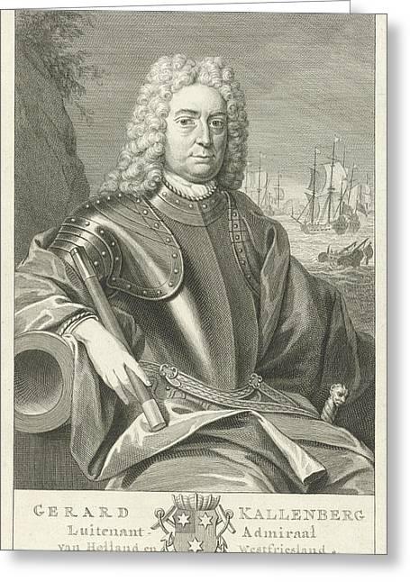 Portrait Of Gerard Callenburgh, Pieter Tanj Greeting Card