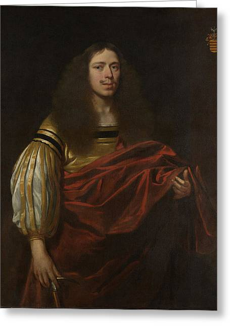 Portrait Of Johan Servaes Van Limburg, Dean Of The Chapter Greeting Card by Litz Collection