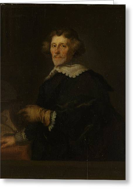 Portrait Of Pieter Corneliszoon Hooft, Bailiff Of Muiden Greeting Card by Litz Collection