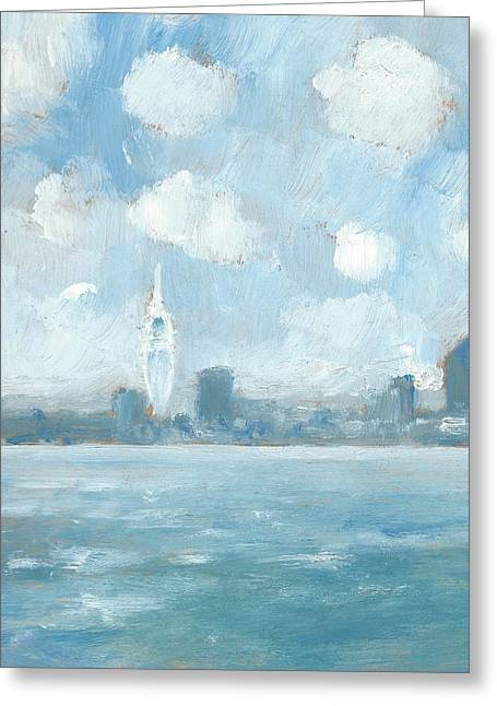 Portsmouth Part One Greeting Card by Alan Daysh