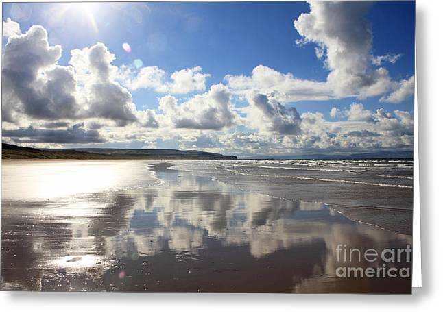 Portstewart Strand 4 Greeting Card