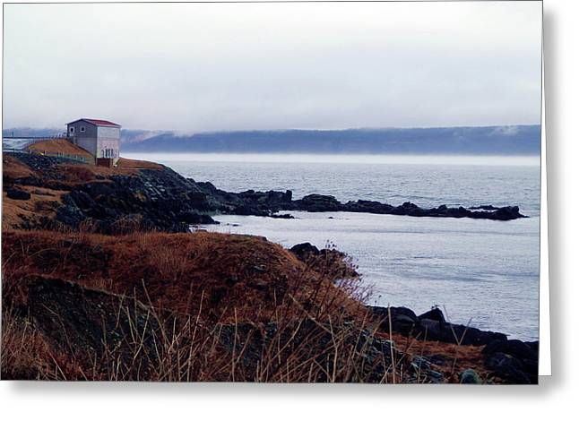 Portugal Cove Greeting Card